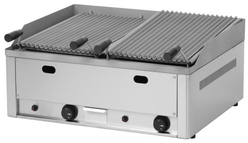 Ist Jeder Gasgrill Für Lavasteine Geeignet : Gas grill mit lavasteinen 660 x 540 mm 2x 6 5 kw gastro ausverkauf.de