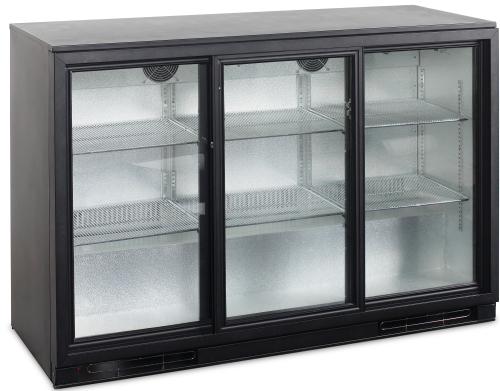 Kühlschrank Gastro : Bar kühlschrank mit glasschiebetüren ba s gc gastro