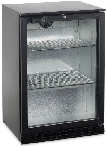 Bar Kühlschrank mit 1 Glastür - BA15H-GC - Gastro-Ausverkauf.de